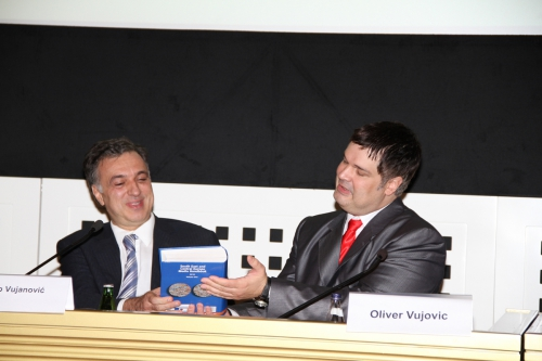 President of Montenegro Filip Vujanovic with  Media Handbook