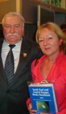 Lech Walesa, former President of Poland